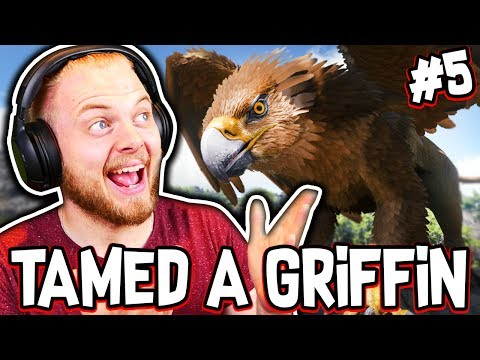 Ark: Ragnarok! – WE TAMED A GRIFFIN!! [#5] |Ragnarok Gameplay|