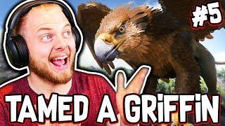 Ark: Ragnarok! - WE TAMED A GRIFFIN!! [#5] |Ragnarok Gameplay|