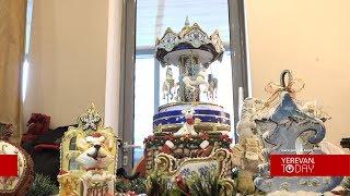 Օրգանական մթերք, մոլեկուլյար գինի, «ուտելու» տոնական խաղալիքներ` Christmas fest-ին