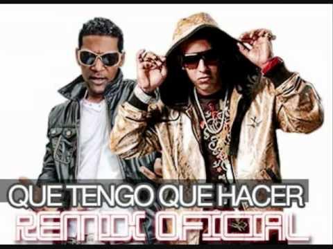 Daddy Yankee Ft Omega el Fuerte - Que tengo que hacer (Official Remix)