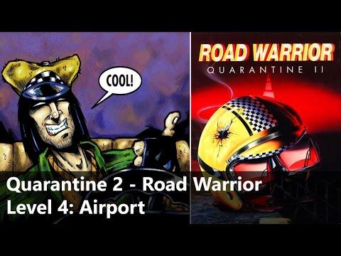 Quarantine 2 - Road Warrior [PC, DOS] - Walkthrough - Level 4: Airport