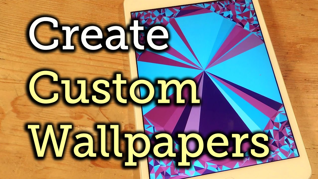 Create Abstract Polygon Shaped Wallpapers In Ios Ipad Iphone Ipod Touch How To