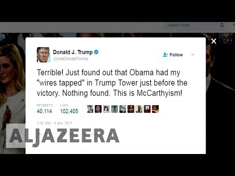 Trump seeks probe into his phone-tapping claim