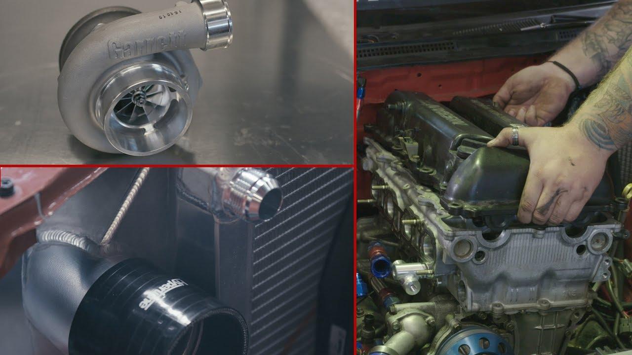 JET200 SR20 - VE Head Conversion Part 1