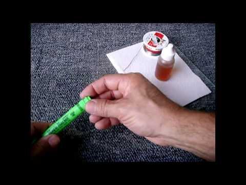 DIY Homemade Refillable Flux Pen