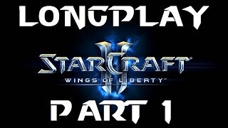 PC Longplay [373] StarCraft 2 Wings of Liberty (part 1 of 5)