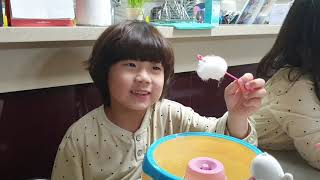 솜사탕 만들기 - 하프의 솜사탕 메이커