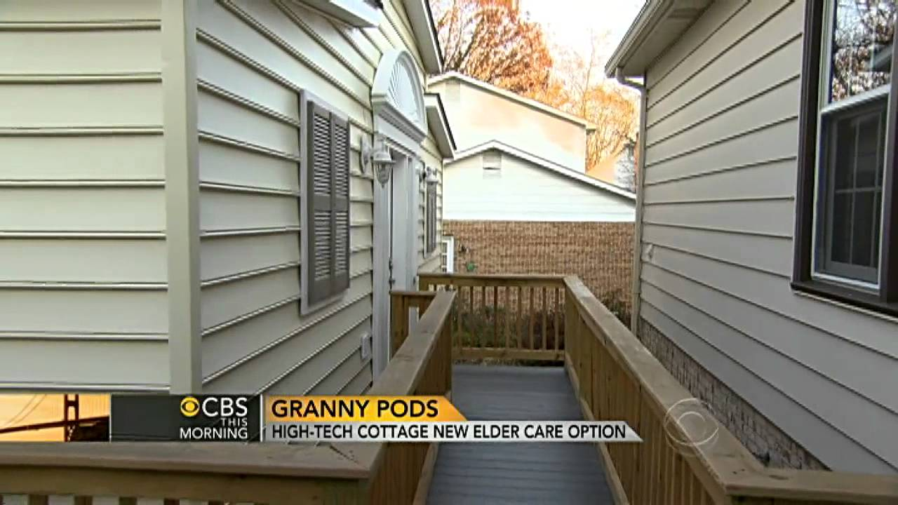 Granny Pods High Tech Cottage Offers New Elder Care Option Youtube