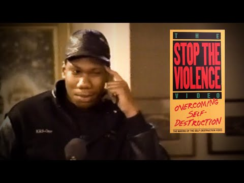 The Stop The Violence Video:  Overcoming Self Destruction (1990) HD