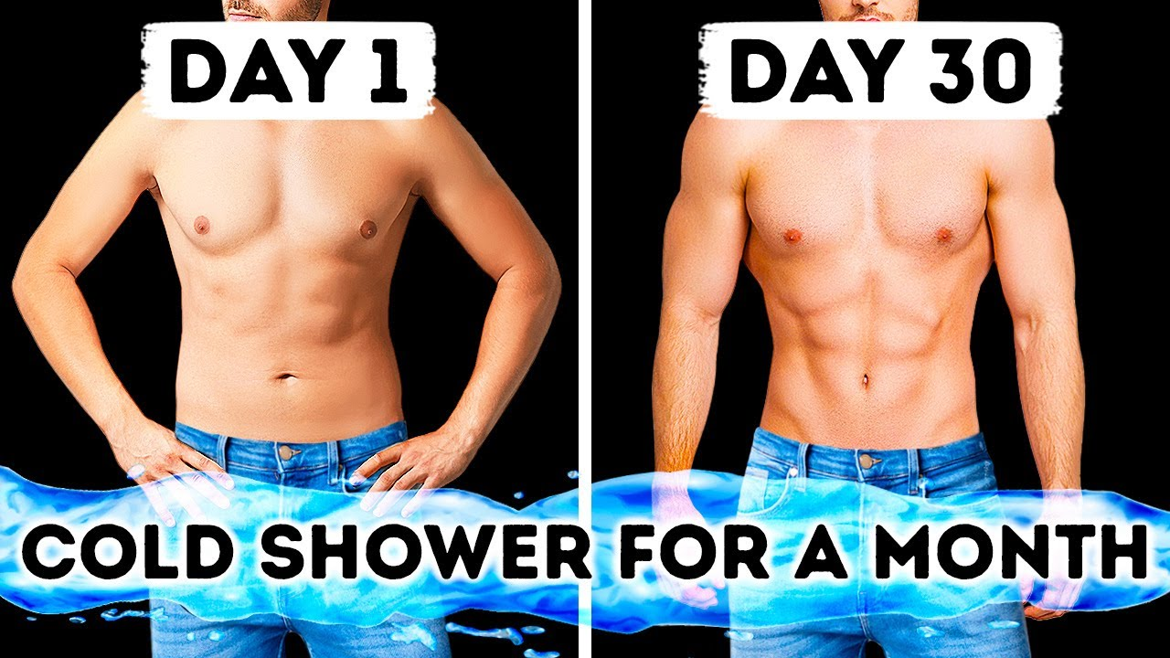 Watch your Body Change after 1 Month of Cold Showers