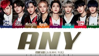 STRAY KIDS - 'ANY' 아니 Lyrics Color Coded_Han_Rom_Engwidth=