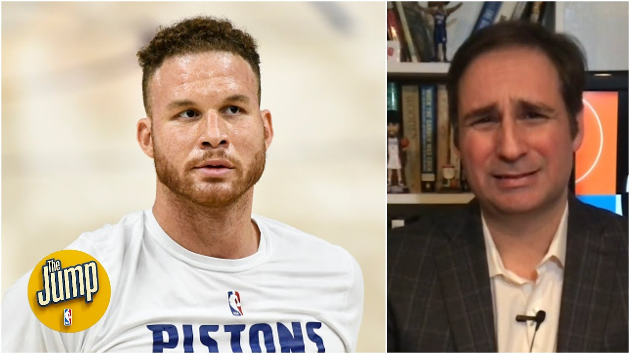 The Pistons are going to have a hard time trading Blake Griffin – Zach Lowe   The Jump