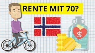 Rente mit 70 und leben am Existenzminimum?! Was wir von Norwegen lernen können
