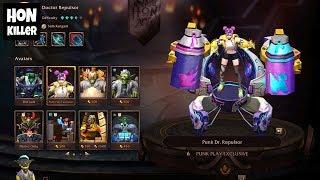 HoN Doctor Repulsor Gameplay - `_sOm3thlngz - Legendary