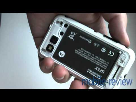 Motorola DEFY MB525 Demo