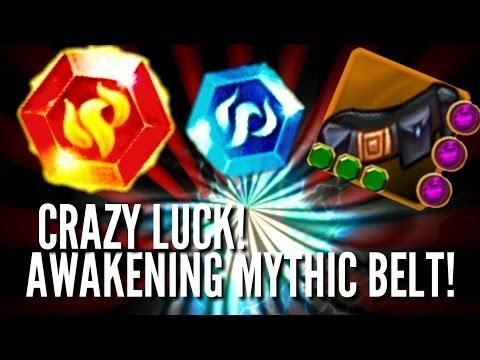 Arcane Legends | Awakening Mythic Belt! CRAZY LUCK... GONE WRONG!