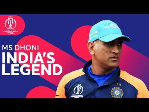 Ms Dhoni India's Biggest Legend  ICC Cricket World Cup 2019