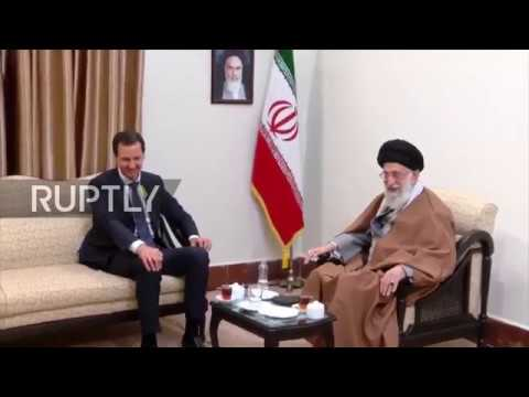 Iran: Assad meets with Khamenei in Tehran