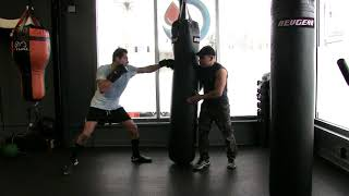 HEAVY BAG KICKBOXING WORKOUT [ WORKOUT SAMPLE INCLUDED IN DESCRIPTION]