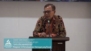 SS Dewasa Triwulan 4 2018 Pelajaran 10 Persatuan dan Hubungan yang Rusak - Mangara Habeahan