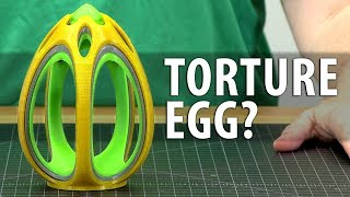 This Egg Broke My 3D Printer - It's Maker's Muse Fault! #DestroyerOfWorlds thumbnail