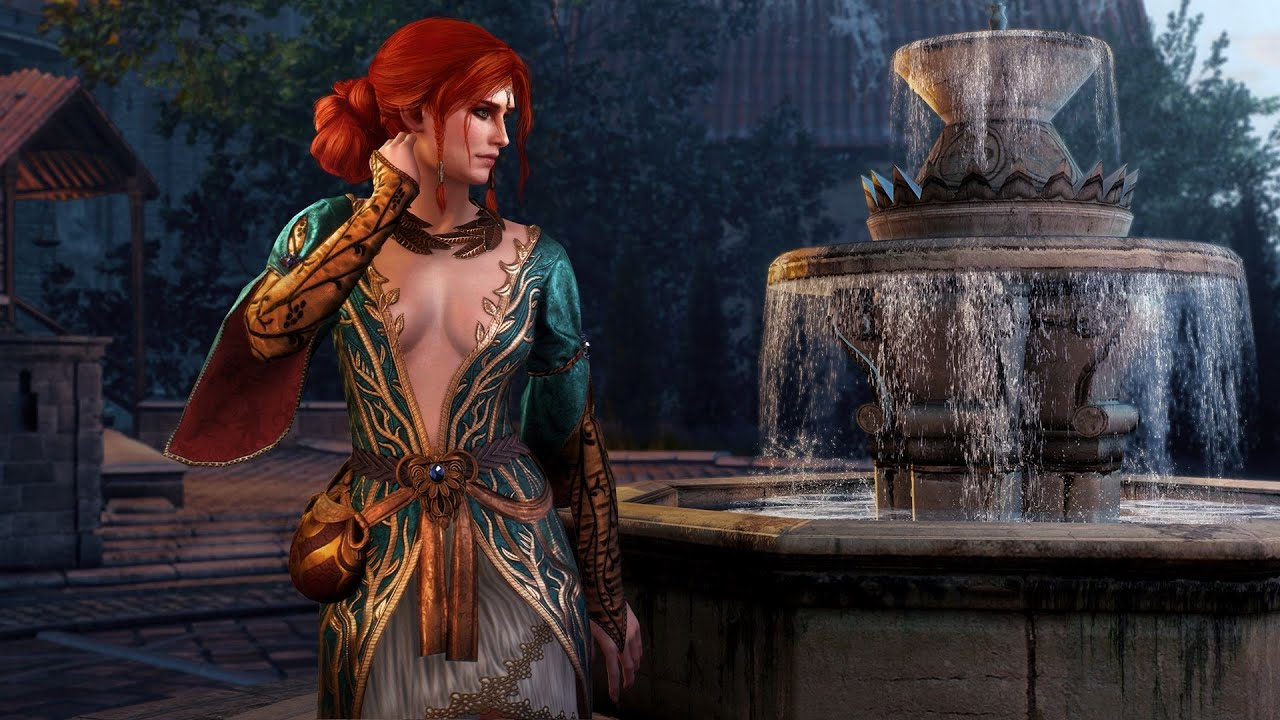 The Witcher 3 Triss Alternate Outfit DLC