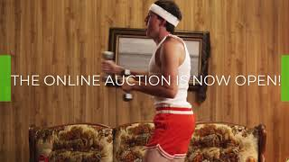 Online Auction Is Now Open!