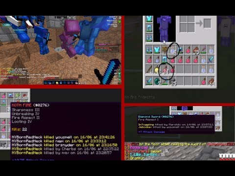 [VeltPvP] KILLING ZIGY + TRAPPING A GUY WITH SPAWNED IN ITEMS & KOTH FIRE - MiniHCF [1]