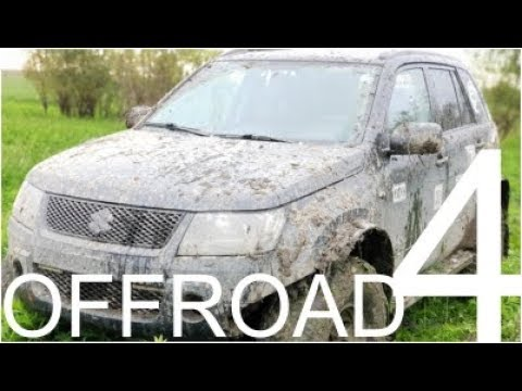 Suzuki Grand Vitara 4x4 Offroad Part 4