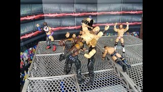 WWE ACTION FIGURE SET UP | BRETTO LIVE CHALLENGE