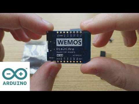 First Steps With Wemos D1 Mini Pro (ESP8266) In Arduino IDE