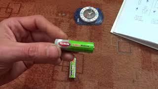 Magnetische Polung von Batterien (Rundzellen)