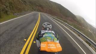 (Cycling 3rd Person) Coolest Descent You'll See on Youtube thumbnail