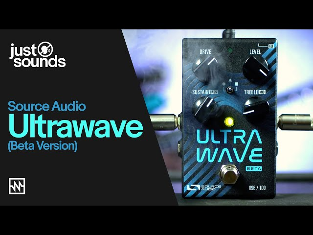 First Jam with Source Audio's Ultrawave Pedal (Beta version) - Wild Multi-Band Processor Pedal