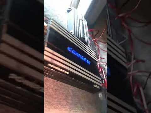 🔊Potente Amplificador Sony Xplod Y Amplificador Marca Crunch Power Zone 🔊