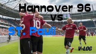 Hannover 96 vs. FC St. Pauli ~ [Der nächste Dreier!] #Stadion V-Log