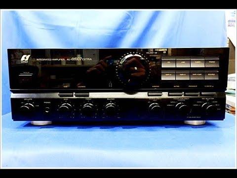 Ampli sansui au alpha 607 extra,công suất 250watt,đen bóng sang trọng