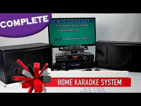 Karaoke System Complete   Professional Karaoke Amplifier   Wireless Mics ✅ Home Karaoke 800-557-SING