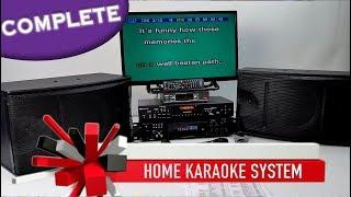 Complete Karaoke System   Karaoke Amplifier   Pearlridge Wireless Mics ✅ Home Karaoke 800-557-SING