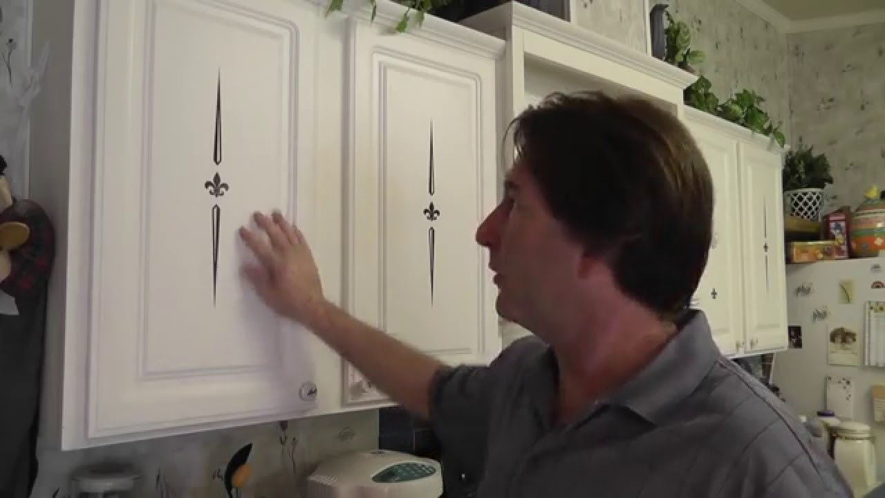 cabinet decals - decorative kitchen decals - cabinetdecals - youtube
