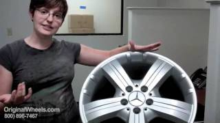 Mercedes Rims & Mercedes Wheels - Video of our Factory, Original, OEM, stock new & used rim Co.