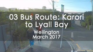 03 Bus Route From Karori Park to Lyall Bay, Wellington - Timelapse Mp3
