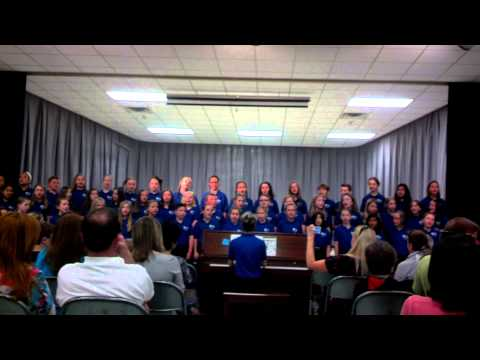 East Woods School 4th Grade Singers