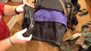 Santeeswapper Thrift Store Find - Ll Bean Internal Frame Backpack & Surprises Inside
