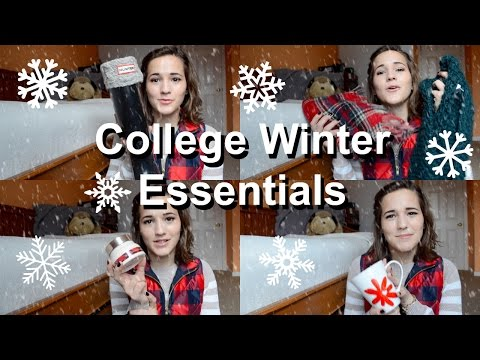 College Winter Essentials | krutsicklass