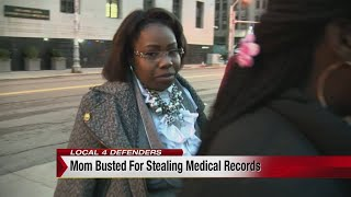Mom busted for stealing medical records