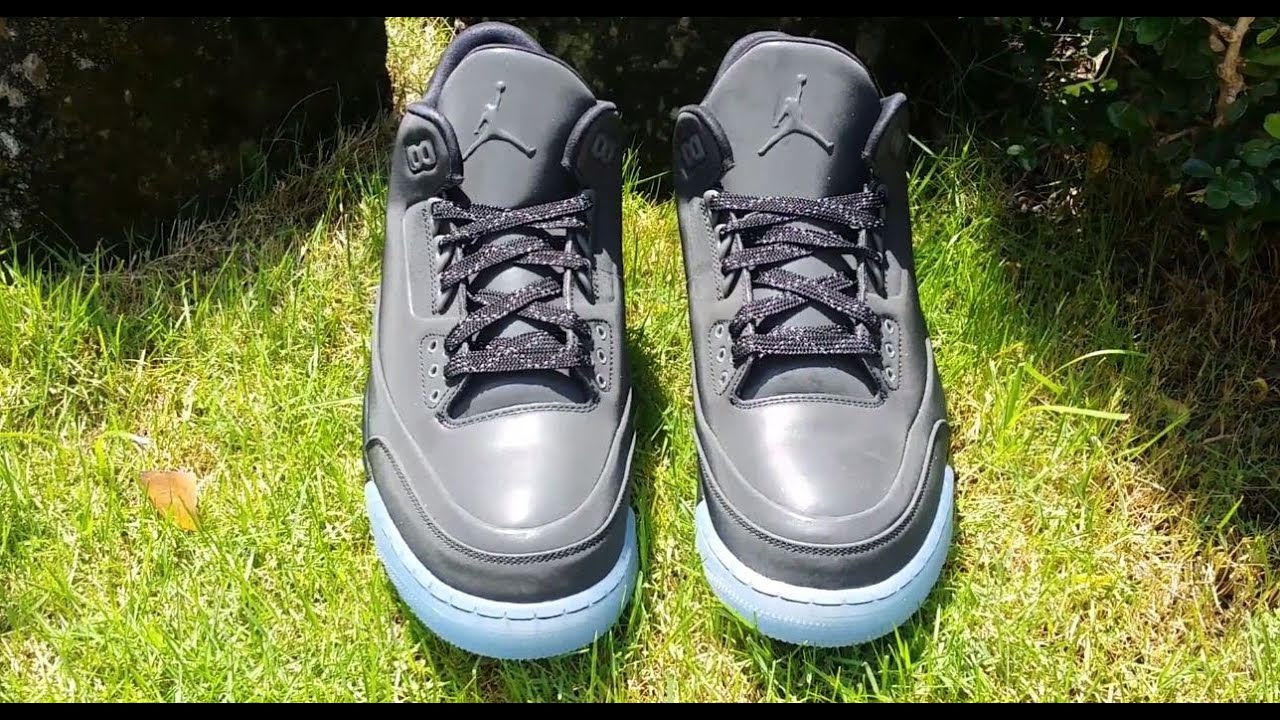 Air Jordan 5Lab3  Black  Detailed Look ef0d324d1