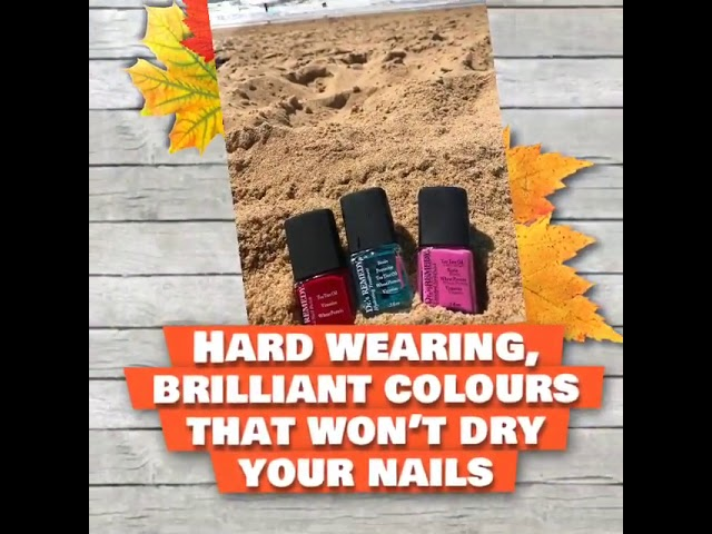 AUTUMN is here and it's a great time to recondition your nails after the summer!