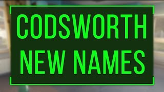 300+ New Names Codsworth Can Now Say (Fallout 4)