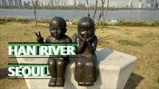 """Han River, Seoul """"Beautiful April weather"""""""